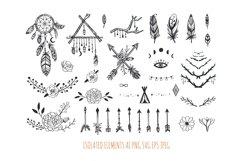 Boho mystic collection, arrows , decor elements,dreamcatcher Product Image 2