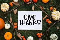 Happy Harvest - A Cute Hand-Lettered Fall Font Product Image 4