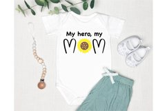 Mom Quotes SVG. Baby Quotes SVG. Sunflower SVG. Baby SVG Product Image 2