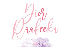 Righttoast Beauty Script Font Product Image 2