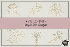 Get well wishes, single line, for foil quill and sketch pens Product Image 3