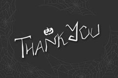 Tarantula   Spooky Creature Display Font Product Image 3