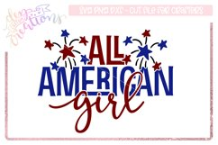 All American Girl - 4th of July Design Product Image 1