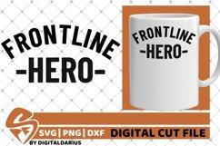 Frontline Herosvg, Stethoscope svg, Nurse svg, Medical svg Product Image 1