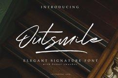 Outsmile Elegant Signature Font Product Image 1