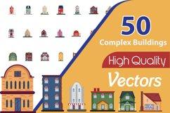 50X Complex Building illustration Product Image 1