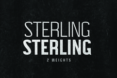 STERLING, A Powerful Sans Serif Product Image 3
