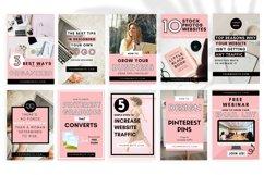 Pinterest Templates Canva, Canva Templates, Pinterest Pins Product Image 5