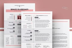 Modern Resume Template Product Image 4