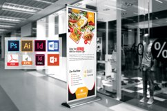 Restaurant Roll Up Banner Vol-02 Product Image 2
