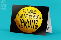 Pickled Limes - a quirky tall & thin font! Product Image 4
