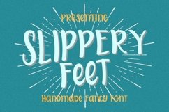 Web Font Slippery Feet Product Image 1