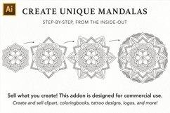 Vector Mandala Creator PRO for Illustrator Product Image 2