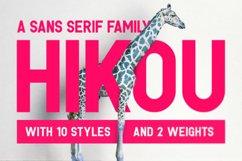 Hikou Typeface Product Image 1