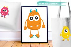 Monster Fun graphics and illustrations Product Image 5