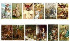 Easter Bunny and Rabbit Vintage Illustrations 1 PDF Product Image 4
