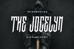 Web Font The Jocelyn Font Product Image 1