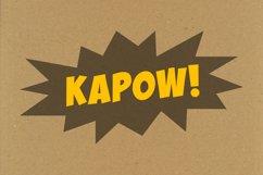 WHOOSH!   a comic font, a cartoon font a superhero font Product Image 5