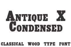 Antique X Condensed  Product Image 1