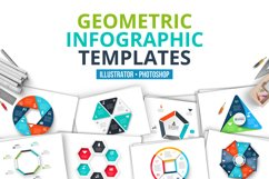 Geometric infographic templates Product Image 1