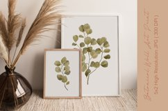 Watercolor Leaves Wall Art, Leaf Wall Print, Plant Wall Art Product Image 3