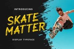 Skate Matter - Brush Texture Typeface Product Image 1