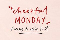 cheerful Monday Product Image 1