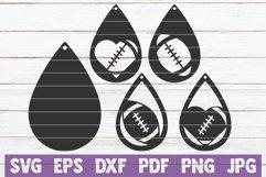 Football Earrings Product Image 1