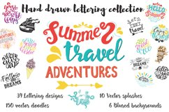 Handwritten travel & summer lettering Product Image 2