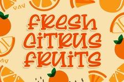 Lemon Squash - a Delicious Qirky Font Product Image 3