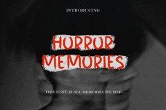 HORROR MEMORIES HORROR FONT Product Image 1