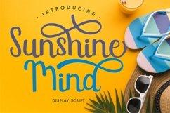 Sunshine Mind - Display Script Font Product Image 1