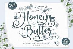 Honey Butter Font Trio & 260 Vectors Product Image 1