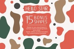 Hello Star | EXTRA SHAPES Product Image 6