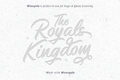 Monopola Script Product Image 6