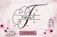 Beautiful Monogram Calligraphy Product Image 3
