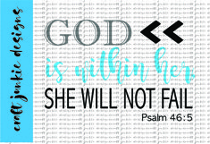 God Is Within SVG Product Image 1