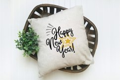 New Year's SVG Bundle with 20 SVG Cut Files DXF EPS PNG Product Image 2
