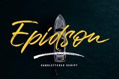Epidson Script Product Image 1