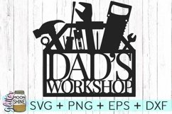 Dad's Workshop SVG DXF PNG EPS Cutting Files Product Image 2