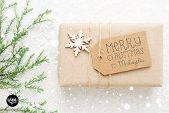 CHRISTMAS MISTLETOE a Script - Serif Christmas Font Duo Product Image 2