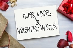 Web Font Love & Happiness - A Valentine's Day Hand-Lettered Product Image 2