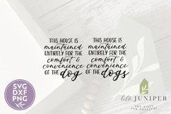 Funny Dog SVG, Farmhouse Dog Sign SVG Product Image 2