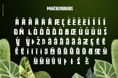 Zaba Zoo - Jungle Font with Text effect Product Image 4