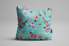 Set of Valentine's Day Seamless Patterns Product Image 5