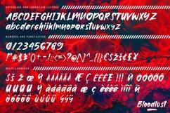 Bloodlust Brush Font Product Image 2
