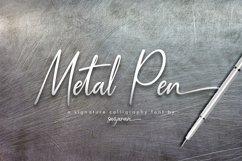 Metal Pen Script 3 Fonts Product Image 1