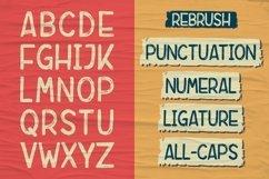Rebrush Typeface Product Image 5