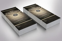 Anniversary Banquet Ticket Bundle Word Publisher Template Product Image 6