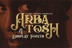 Arbatosh - Display Font Product Image 1